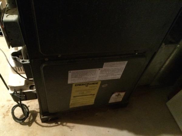 furnace indicator light